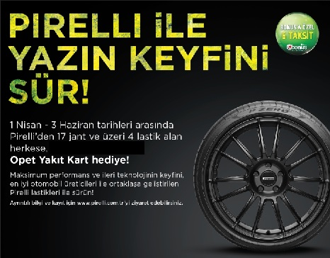 Pirelli kampanya