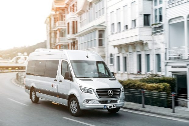 Yeni Mercedes Benz Sprinter 1