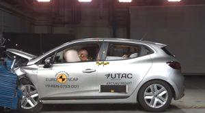 Yeni Renault Clio Euro Ncap Çarpışma Testinden 5 Yıldız Aldı