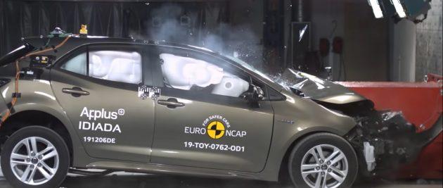 Yeni Toyota Corolla Hatchback Euro Ncap Çarpışma Testinden 5 Yıldız Aldı