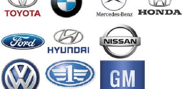 Dünyanın En Büyük 10 Otomobil Markası Belli Oldu