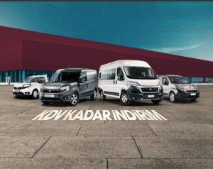 Fiat Ducato Pratico Doblo Cargo ve Fiorino Cargo Satış Kampanyası