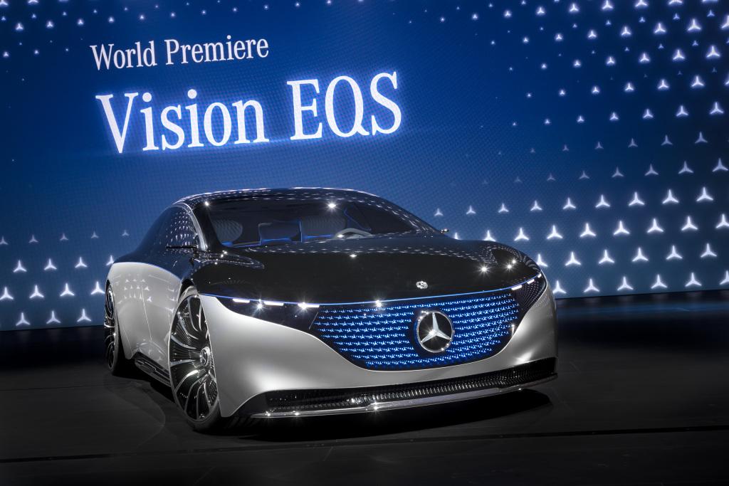 Mercedes-Benz Frankfurt Otomobil Fuarı'nda Emisyonsuz Geleceği Gösterdi