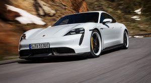Porsche'nin İlk Tamamen Elektrikli Spor Otomobili Taycan Tanıtıldı