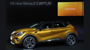 Yeni Renault Captur Frankfurt Otomobil Fuarı'nda Tanıtıldı