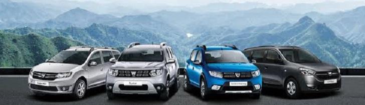 Dacia Sıfır Binek ve Ticari Araç Modelleri Fiyat Listesi