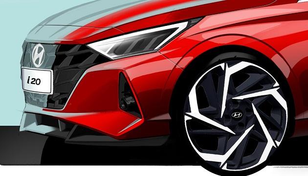 Yeni Hyundai i20 İçin İlk Görseller Paylaşıldı