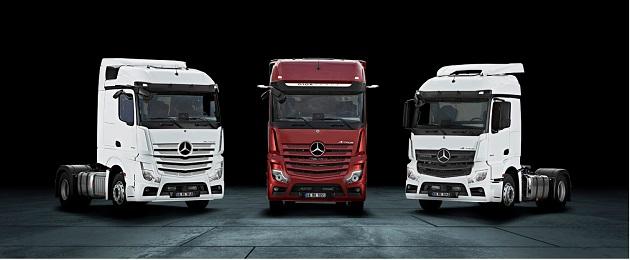 Yeni Mercedes-Benz Actros Çekici Türkiye'de Satışa Sunuldu