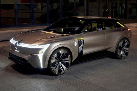 Renault'nun Kişisel ve Paylaşılabilir Elektrikli Mobilite Vizyonu: MORPHOZ