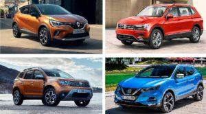 SUV ve Crossover Satışları Avrupa Pazarında Büyümeye Devam Ediyor