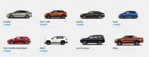 Toyota Modelleri ve Mayıs 2020 Satış Fiyatları Listesi