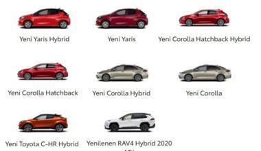 Toyota Modelleri ve Ocak 2021 Satış Fiyatları Listesi