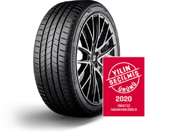 Bridgestone Turanza T005 Yılın Seçilmiş Lastiği Ödülü Aldı