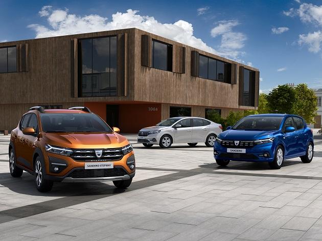 Dacia Sandero, Sandero Stepway ve Logan'ın Üçüncü Nesilleri Tanıtıldı