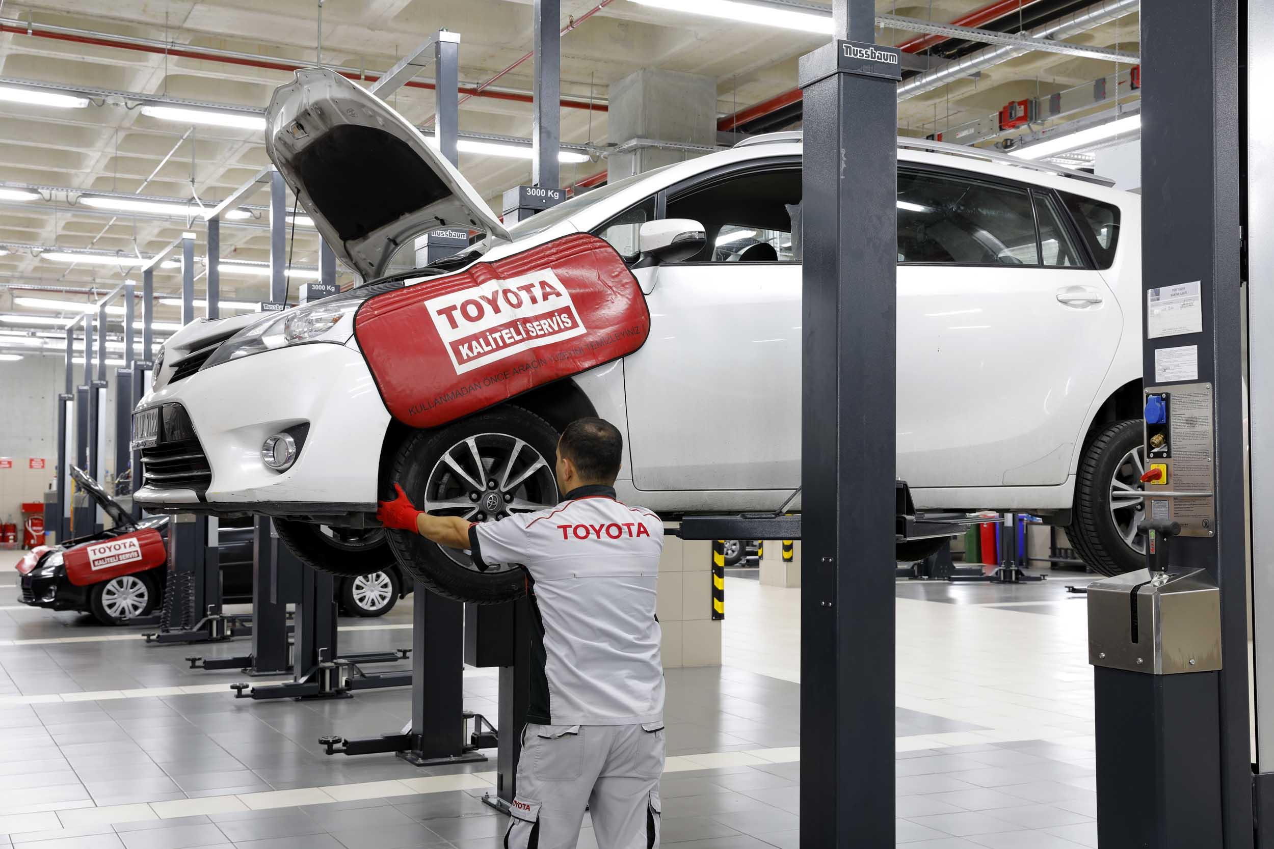 Toyota Servis Kampanyası 2020 Ekim