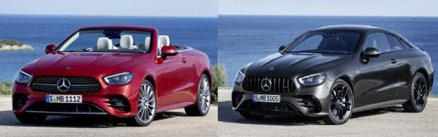 yeni mercedes benz e serisi Coupe cabriolet