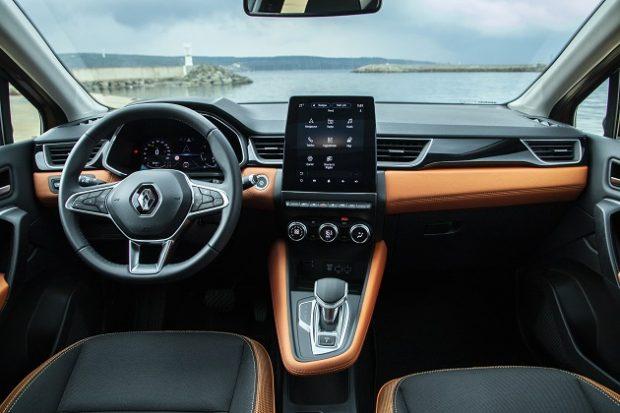 Yeni Renault Captur ic