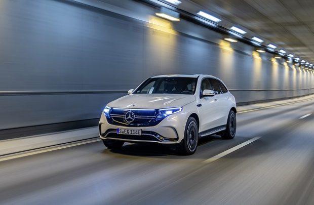yeni Mercedes Benz EQC 1