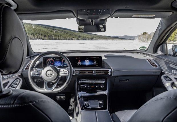 yeni Mercedes Benz EQC ic