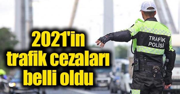 2021 in trafik cezalari belli oldu