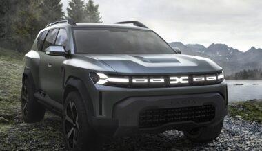 Dacia Yeni SUV Modelinin İlk Gösterimini Yaptı