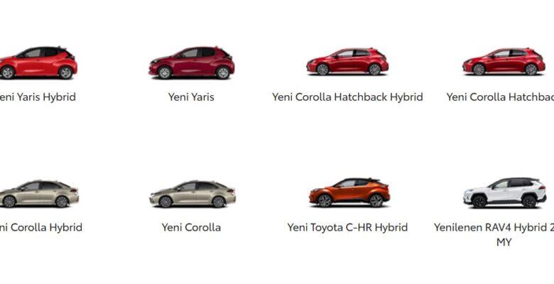 Toyota Fiyat Listesi 2021 Mayıs Satış Kampanyası