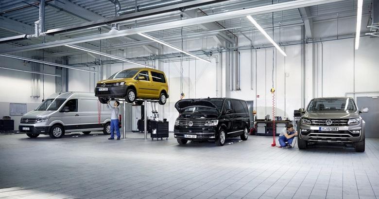 VW Ticari arac servis