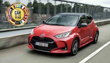 Avrupa'da 2021 Yılının En İyi Otomobili Yeni Toyota Yaris Oldu