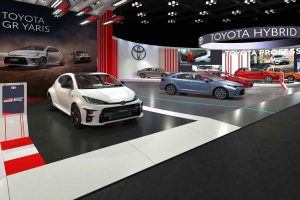 Toyota 6 Hibrit Modeliyle Autoshow 2021'de