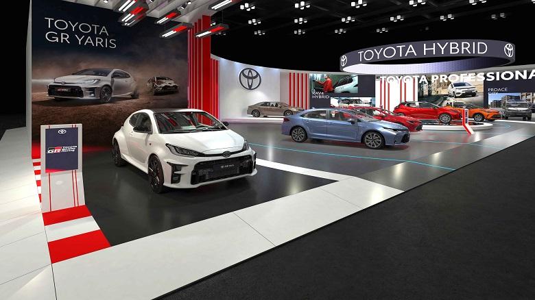 Toyota Autoshow2021 stand