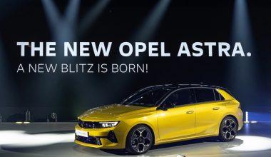 Yeni Opel Astra Türkiye'de Ne Zaman Satılacak?