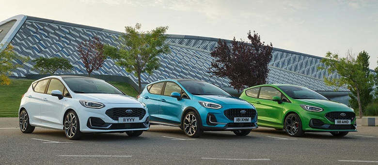 yeni Ford Fiesta 2021
