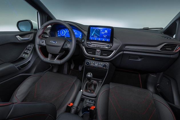 yeni Ford Fiesta 2021 ic